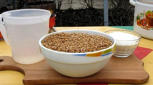 как приготовить 5 литров пшеничной браги