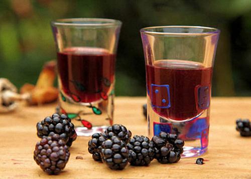 вино ежевичное классическое