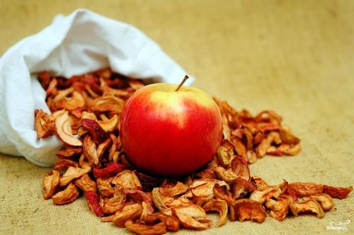 сухие яблоки для вина