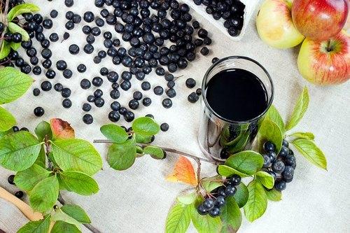 вино с черноплодной рябины и ранета
