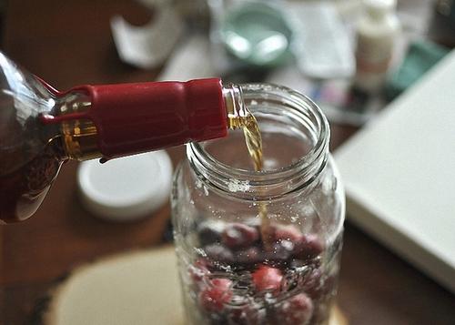 настойка вишни на коньяке