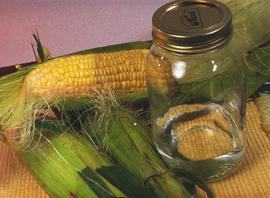 как сделать кукурузный самогон