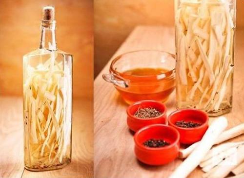 ингредиенты приготовления классической хреновухи