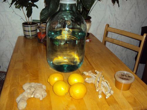 рецепт хреновухи с соком лимона