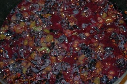 выжатый виноград
