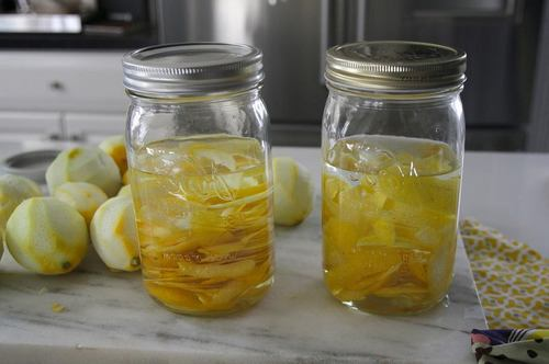 приготовление лимонной настойки