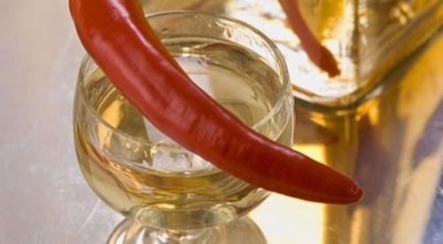 водка с перцем и медом