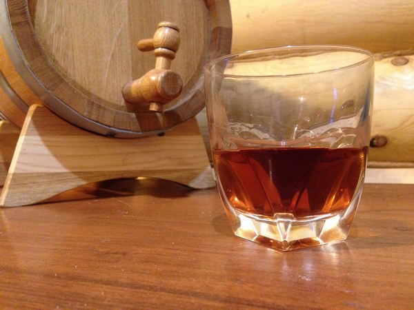 приготовление бочкового виски
