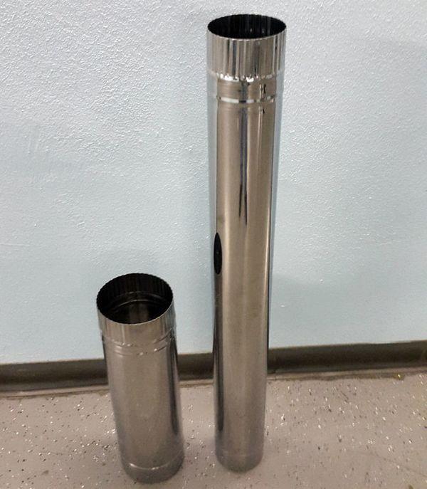 труба из нержавейки для дымогенератора холодного копчения