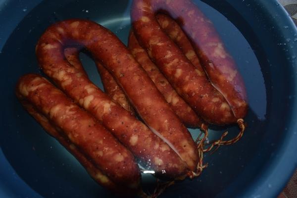 охлаждение колбасы