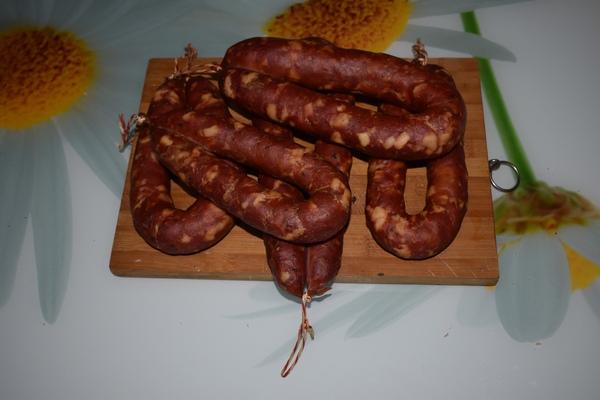 колбаса после копчения