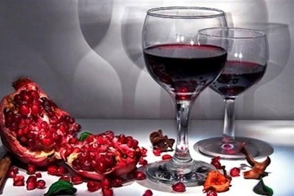 полезное вино из граната