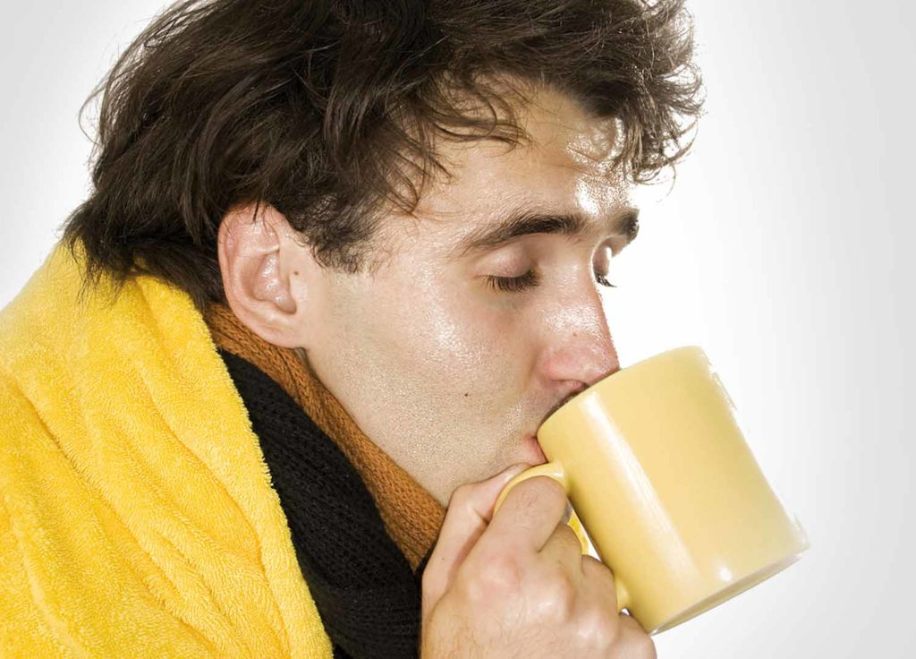 Чай от похмелья  в два счета поставит на ноги даже после шумной гулянки