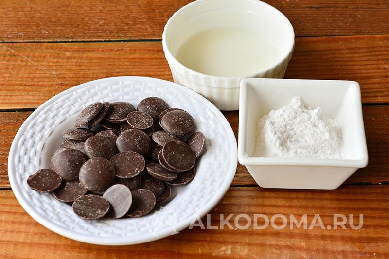 Глазурь из шоколада для куличей за 5 минут